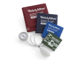 Welch Allyn DS44-MC DuraShock Integrated Aneroid Sphygmomanometer