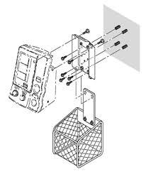 Omron HEM-907-WKIT Blood Pressure Wall Mount