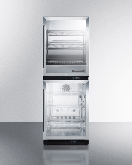 Summit Rfbw61g Warming Cabinet Refrigerator Summit