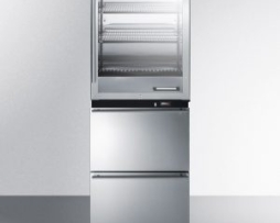 Summit RFBW62D Warming Cabinet Refrigerator