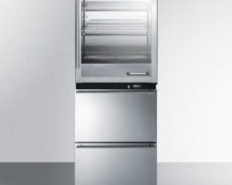 Summit FRBW52D Warming Cabinet Freezer