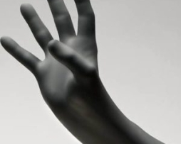 Innovative 127200 Black Wolf Exam Gloves