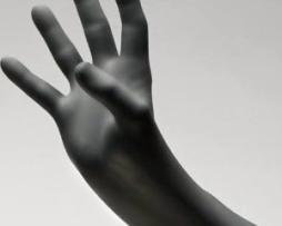 Innovative 127300 Black Wolf Exam Gloves
