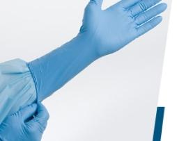 Tidi 940003-1 Nitrile Powder Free Gloves Large