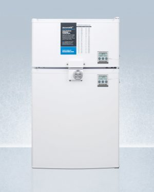 Summit CP351WLLF2PLUS2ADA Medical Refrigerator Freezer