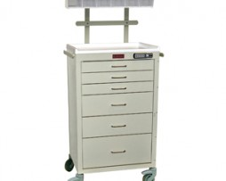 Harloff 4156E-ANS Mini24 Line 6 Drawer Anesthesia Cart