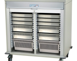 Harloff MS4040-A Double Column Medical Storage Cart