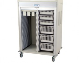 Harloff MS6140-CATH3 Catheter Medical Storage Cart