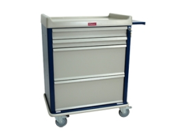 Harloff SL100DSPN Standard Line Medication Cart