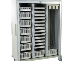 Harloff MS8160-CYSTO Triple Column Urology Medical Storage Cart