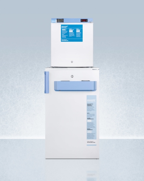 Summit FF511L-FS24LSTACKMED2 Medical Refrigerator Freezer