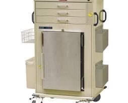 Harloff MH5300B Hyperthermia Anesthesia Cart Laboratory Refrigerator