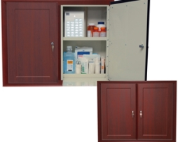Harloff WL2780DBREC-DC Wooden Laminate Medication Cabinet