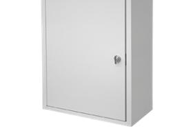 Omnimed 291611-LG Medium Wall Storage Narcotic Cabinet