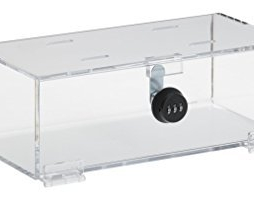 Omnimed 183005 Clear Acrylic Refrigerator Lock Box
