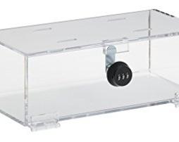 Omnimed 183005 Clear Acrylic Refrigerator Lock Box