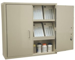 Harloff 2740PC-D Large Narcotics Cabinet