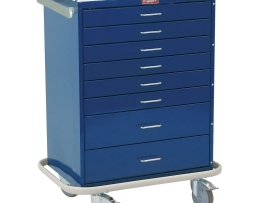 Harloff 6610 Anesthesia Cart Classic Line Eight Drawer