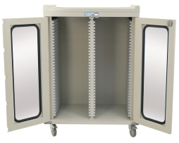 Harloff MS6140DR Double Column Medical Storage Cabinet