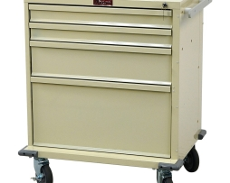 Harloff V24-4K V-Series Four Drawer Treatment Procedure Cart