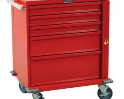 Harloff V24-5B V-Series 5 Drawer Emergency Crash Cart