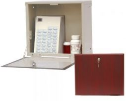 Harloff WL2786-DC Wooden Laminate Wall Medication Cabinet