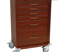 Harloff WV6450-CM Aluminum Wood Vinyl Treatment Cart