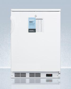Summit FF6LPRO Undercounter General Medical Refrigerator