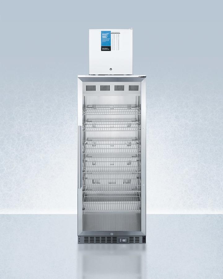 Summit Acr1151 Fs24lstackpro Medical Refrigerator Freezer