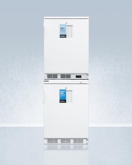 Summit FF6L-VT65MLSTACKPRO General Medical Refrigerator Freezer