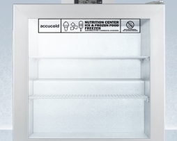 Summit SCFU386NZ Nutritional 2.0 cf Commercial Freezer