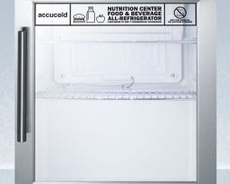 Summit SCR215LNZ Compact Nutrition Commercial Refrigerator