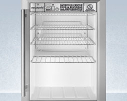 Summit SCR312LNZ Compact Nutrition Center Refrigerator