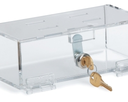 Omnimed 183001 Clear Acrylic Refrigerator Lock Box Small