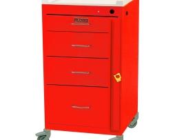 Harloff 3144B Mini Line Four Drawer Emergency Cart