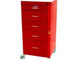 Harloff 3155B Mini Line Emergency Cart Five Drawer