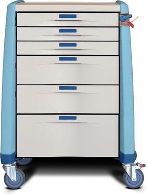 Capsa AM10MC-EB-B-DR321 Avalo Standard Treatment Cart