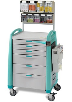 Capsa AM10MC-EG-A-DR321 Avalo Anesthesia Cart Auto Lock