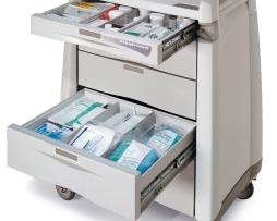 Capsa AM10MC-LCD-K-DR131 Avalo Series Treatment Cart