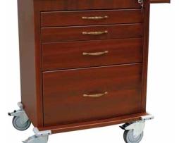 Harloff WV6350-CM Wood Vinyl Aluminum Treatment Cart