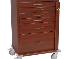 Harloff WV6400-CM Wood Vinyl Aluminum Emergency Cart