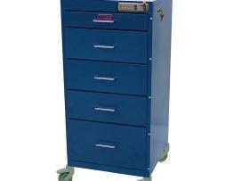 Harloff 3155E Treatment Procedure Cart Mini Line Five Drawer