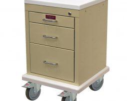 Harloff AL3233K Treatment Procedure Cart Mini Line Three Drawer