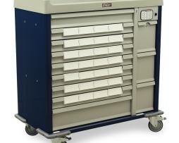 Harloff SL28BIN5-EKC Med-Bin Cart Standard Line Medication