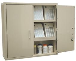 Harloff 2740PC-D Narcotics Medicine Cabinet Large