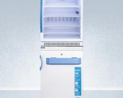 Summit ARG6PV-VT65MLSTACKMED2 Vaccine Refrigerator Freezer