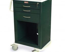 Harloff MDS2430KC4 Treatment Cart M-Series Medium Three Drawer