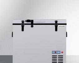 Summit SPRF86M2 Portable General Medical Refrigerator Freezer